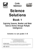 Science Solutions Book 1