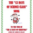 Science Song - 12 Days of Science Class