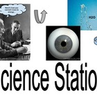 Science Station: Learning Center Label