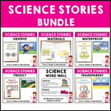 Science Stories Bundle Set 5 Waterproof, Transparent, Mate