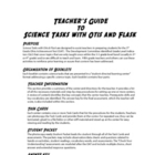 Science Tasks Teacher Guide
