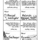 Science Team Cooperative Collaborative Task Cards and Activities