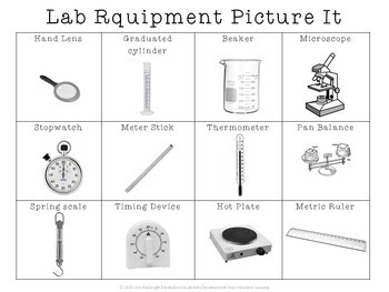 Science Vocabulary: Lab Equipment teaching unit