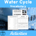 Science Vocabulary: Water Cycle Teaching Unit