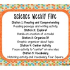 Science Weekly Five Classroom Signs