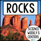 Science Weekly Five Stations- Rocks and Fossils