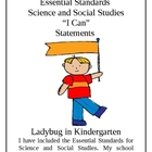 Science and Social Studies Essential Standards I Can Statements