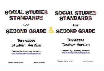 Science and Social Studies Standards for Tennessee 2nd grade