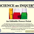 Science as Inquiry: Investigations