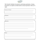 "Scientific Method ""Egg-spriament"" Graphic Organizer"