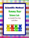 Scientific Method Gummy Bear {Hands-on Lab}