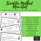 Scientific Method Mini-Unit