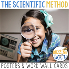 Scientific Method Posters & Word Wall Words Pack