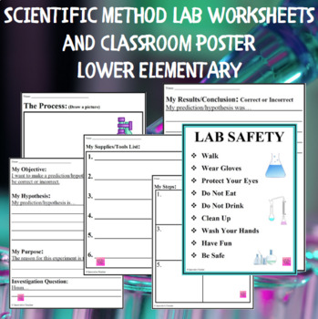 Scientific Method Worksheet - Lower Elementary