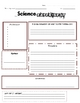 Scientific Method Science Experiment Form