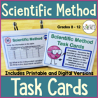 Scientific Method Task Cards, Grades 6-10, 30 Task cards