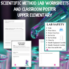 Scientific Method Worksheet - Upper Elementary