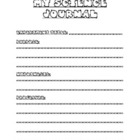 Scientific Method/Science Experiment Journal