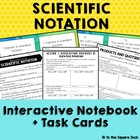 Scientific Notation Guided notes and Task Cards CCS: 8.EE.A.4