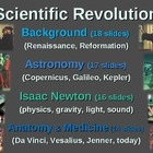 Scientific Revolution (ALL 4 PARTS) textual, visual, engag