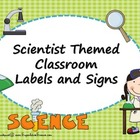 Scientist Theme Classroom Set