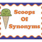 Scoops Of Synonyms