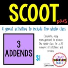 Scoot -Acorn Scoot & more... 3 Addends