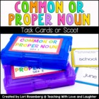 Scoot Game - Common or Proper Noun