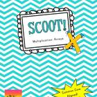Scoot:  Multiplication Arrays {Common Core Aligned}