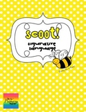 Scoot:  Simile, Metaphor, Personification or Hyperbole?  {