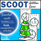 Scoot: Snowball Addition Game 1-10