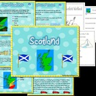Scotland unit and map skills - geography of Scotland