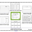 Scott Foresman Kindergarten Reading Street Unit 6 Worksheets