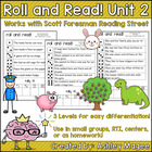 Scott Foresman Reading Street Roll &amp; Read Fluency Practice Unit 2