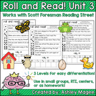 Scott Foresman Reading Street Roll &amp; Read Fluency Practice Unit 3