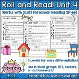 Scott Foresman Reading Street Roll & Read Fluency Practice Unit 4