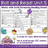 Scott Foresman Reading Street Roll & Read Fluency Practice Unit 5