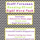 Scott Foresman Reading Street Sight Word Pack for Grade 1