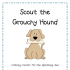 Scout the Grouchy Hound Diphthong /ou/ Literacy Activity
