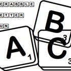 Scrabble Letter Fun (Full Alphabet)