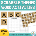 Scrabble Letters - A to Z Boggle!