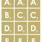 Scrabble Letters Printable