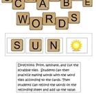 Scrabble Words