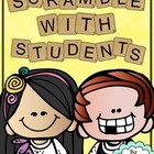 Scramble With Students - Word and Letter Activity Booklet