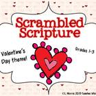 Scrambled Scripture {Bible Verses for Valentine's Day} Cen