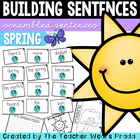 Scrambled Sentences: It's Springtime!