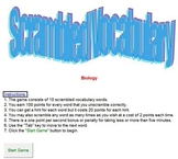 Scrambled Vocabulary - Classroom License  A Pinkley Product
