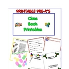 Scrapbook Printables for a Class Book