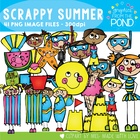 Scrappy Summer Set - Clip Art