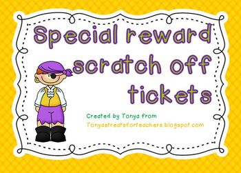 Scratch off tickets-pirates